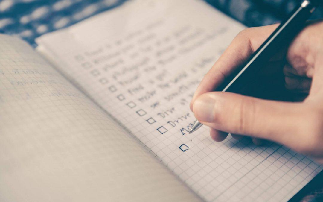 Le pouvoir des listes pour se concentrer et avancer plus vite